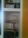 Sa bibliothèque
