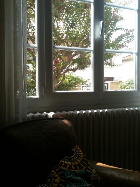 La fenêtre de son salon