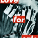 barbara-kruger-love for sale